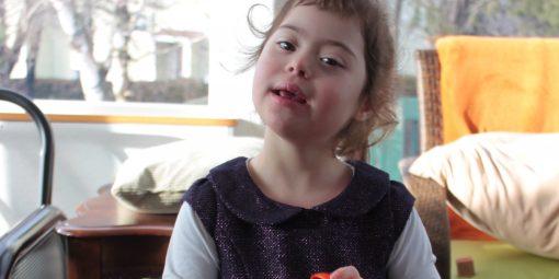 Portrait d'Élia, 5 ans