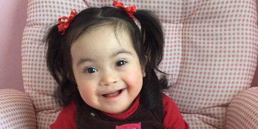 Portrait de Camila, 2 ans