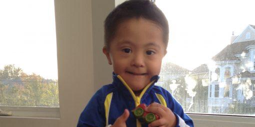 Portrait d'Emiliano, 3 ans