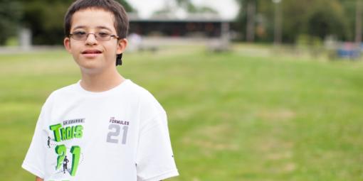 Portrait de José-Thomas, 12 ans
