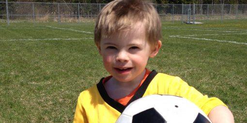 Portrait de William, 3 ans