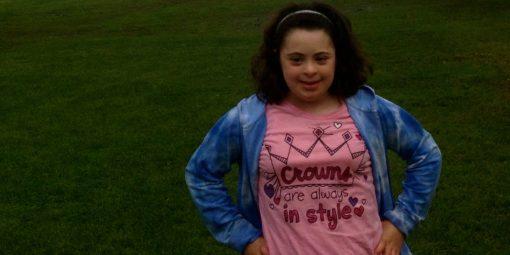Portrait de Dania, 10 ans