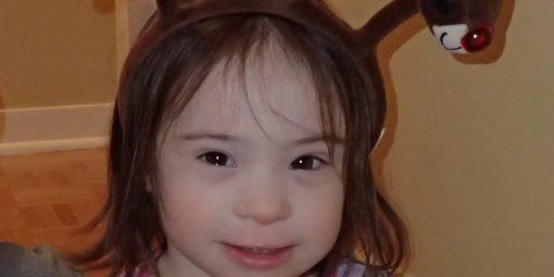 Portrait d'Angélick, 3 ans