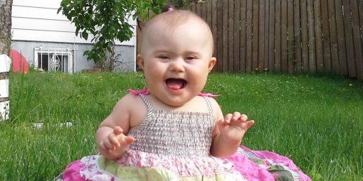 Portrait de Zoé, 10 mois