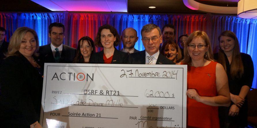 Chèque Action 21 2014