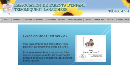 Guide APETL: «C'est ma vie!»