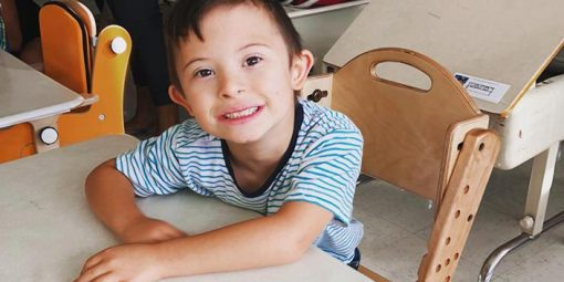 Portrait d'Olivier, 6 ans