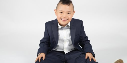 Portrait de Jordan, 9 ans