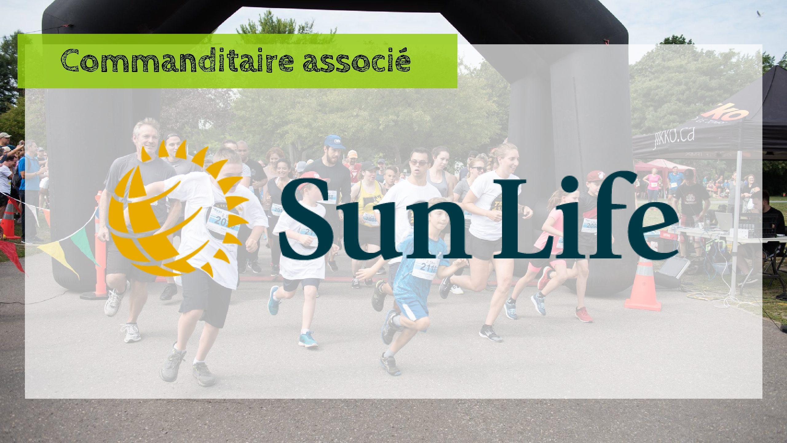 Sun Life : Nouveau partenaire de la Course TROIS, 2, 1, GO!
