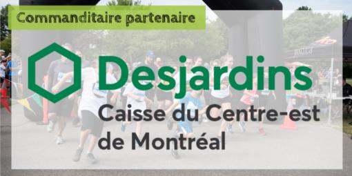 Desjardins du Centre-est de Montréal de nouveau commanditaire à la course