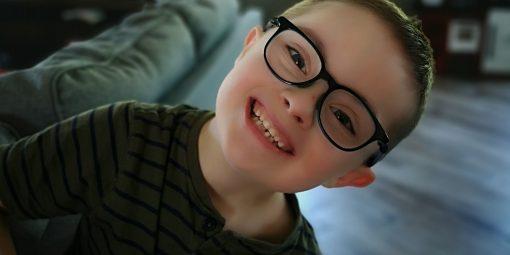 Portrait de Zack, 7 ans